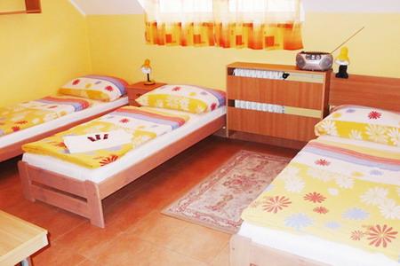 Ubytování jižní Morava - Penzion u Vranovské přehrady - pokoj